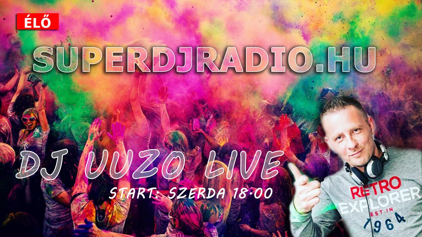Dj Uuzo a Superdj Rádió műsorvezetője webrádió