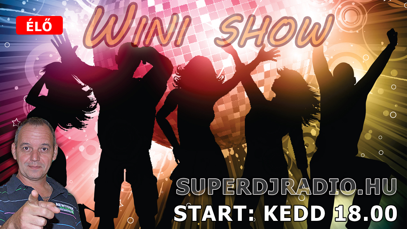 Dj Wini a Superdj Rádió műsorvezetője webrádió