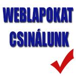 Weblapokat csinálunk
